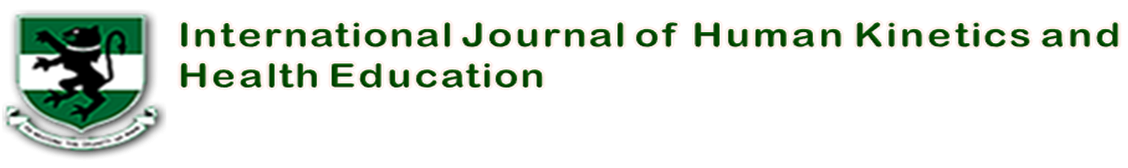 International Journal of Human Kinetics, Health and Education