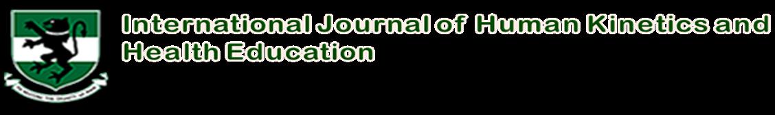 International Journal of Human Kinetics, Health and Education
